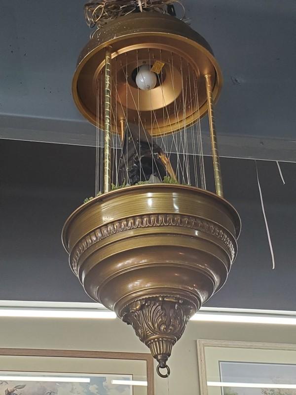 Vintage Mineral Oil Rain Lamp