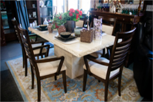 Stone Table & Chairs | Simply Home Consignments