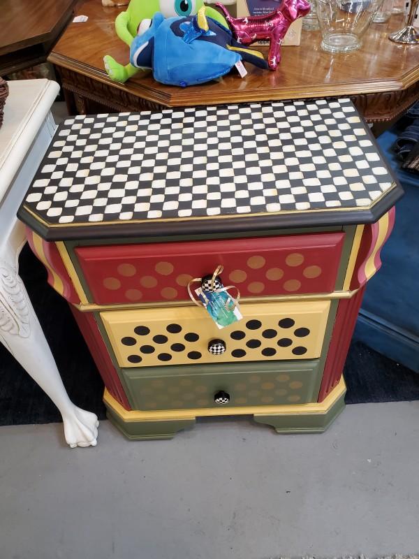 Mackenzie Childs Style - 3 Drawer Dresser