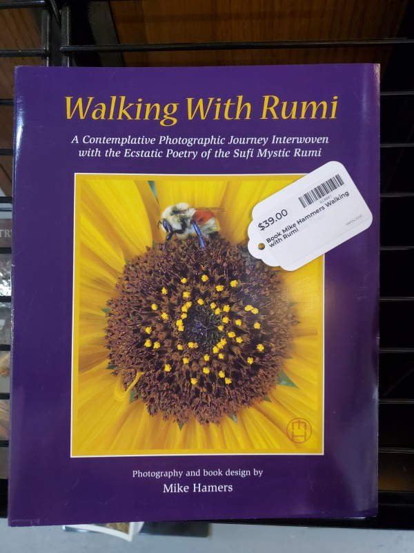 Book Mike Hammers Walking with Rumi