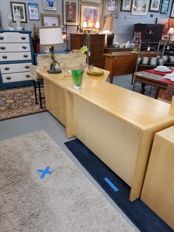 Scandinavian Design 2 Piece Corner Desk