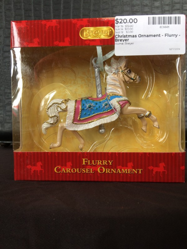 Christmas Ornament - Flurry - Breyer