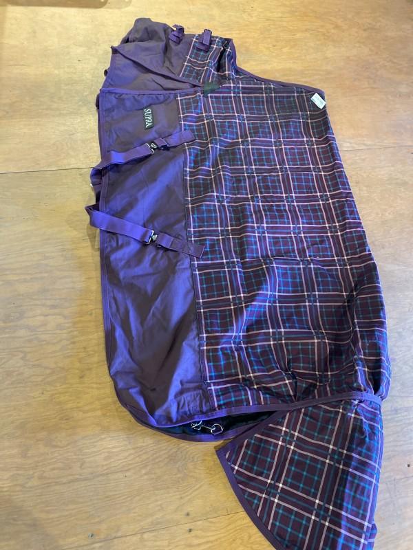 Rainsheet - Std Neck - Purple Plaid - Supra - 70