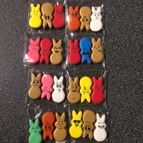 Horse Cookie - M - Rabbits - 3 Pack: Buy 4 Get 1 Free - Pony Nuggets