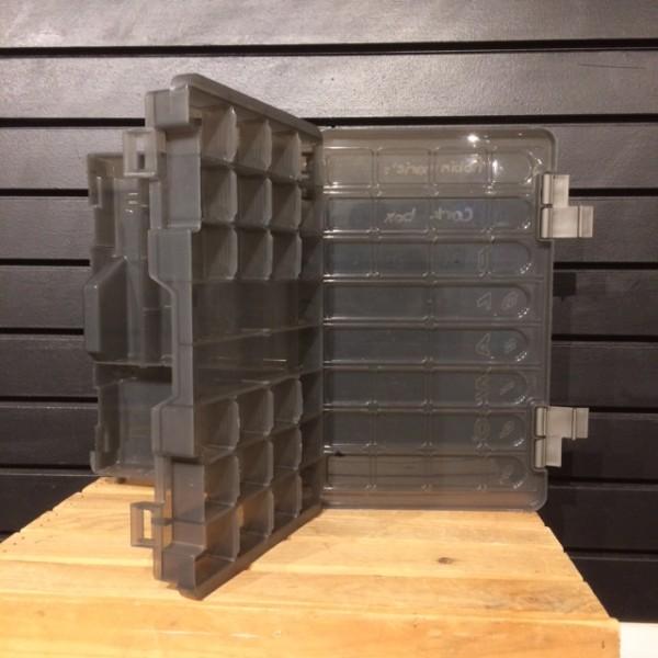 Cork Box - 2 Levels - Transparent Grey - Plano