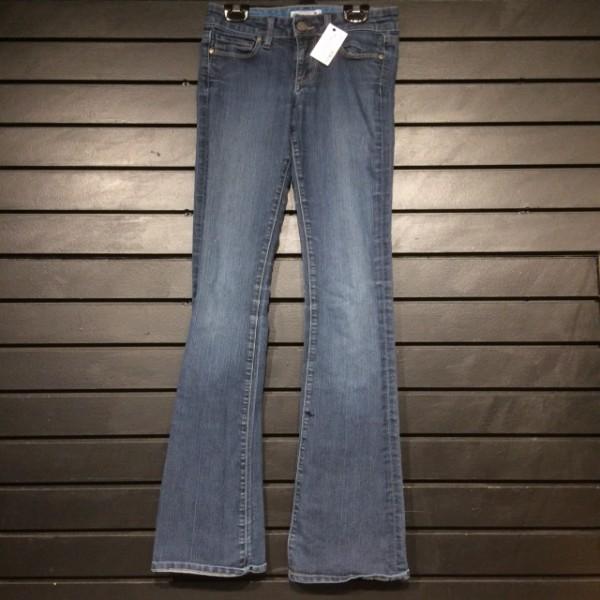 Jeans - Slim Boot w/ Stretch - Dark Wash - Paige - 24