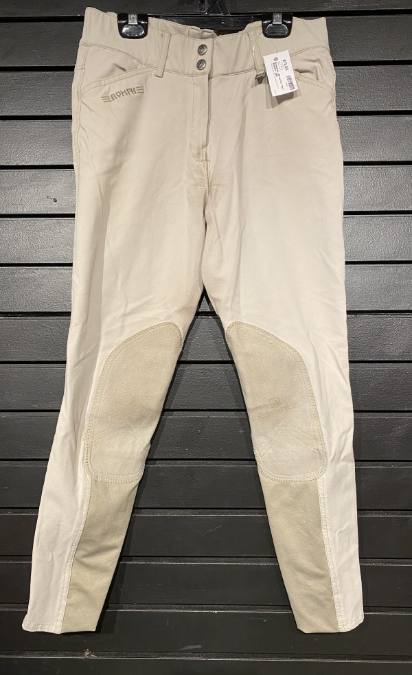 Breeches - KP w/ Fly - Tan - ROMFH - 28R