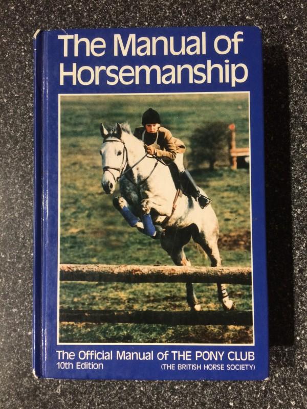 Book - The Manual of Horsemanship 10th Ed.