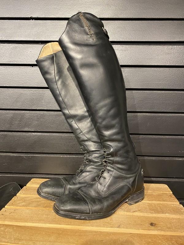 Boots - Field - Square Toe - Black - Ariat Monico - 7 (17 5/8
