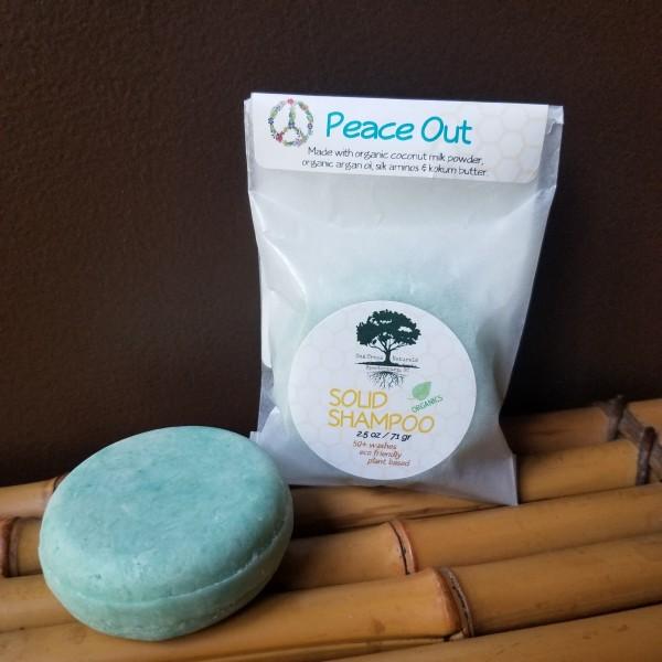 Solid Shampoo - PEACE OUT