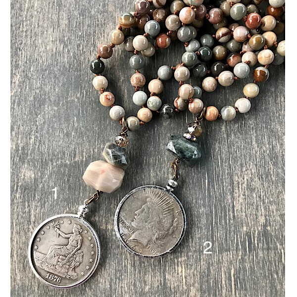 1Coin on Long American Picture Jasper Strand